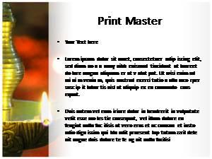 Diwali Lamp Free Ppt Template Slide3