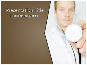 Doctor Free Ppt Template Slide1
