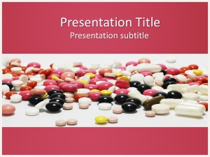 Medications Free Ppt Template Slide1