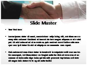 Handshake Free Ppt Template Slide2