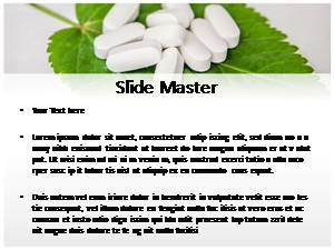 Herbal Pills Free Ppt Template Slide2