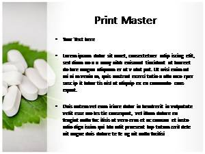 Herbal Pills Free Ppt Template Slide3