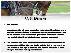 Horse Riding Free Ppt Template Slide2
