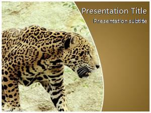 Jaguar Free Ppt Template Slide1