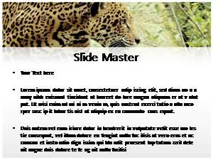 Jaguar Free Ppt Template Slide2