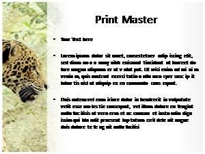 Jaguar Free Ppt Template Slide3