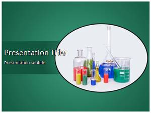 Lab Equipment Free Ppt Template Slide1