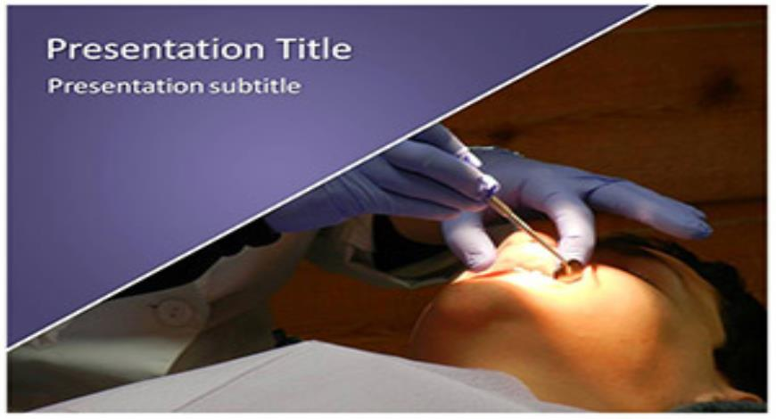 Free Orthodontist Powerpoint Template And Themes