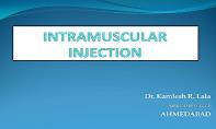 Intramuscular Injection PowerPoint Presentation