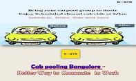 Cab pooling Bangalore – Better Way to Commute to Work PowerPoint Presentation