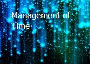 Management of Time Powerpoint Presentation