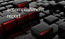 accomplishment report PowerPoint Presentation
