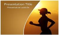 Morning Running Free Ppt Template