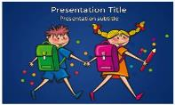 School Student Free Ppt Template
