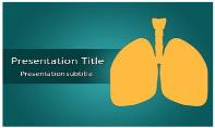 Lungs Free Ppt Template