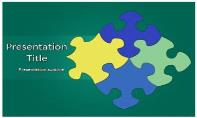 Puzzle Free Ppt Template