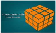Rubiks Cube Free Ppt Template