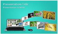 Image Sharing Free Ppt Template