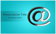 Email Symbol Free Ppt Template