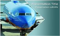 Airplane Free Ppt Template