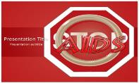 Stop Aids Free Ppt Template