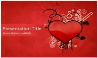 Heart Free Ppt Template