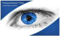 Blue Eye Free Ppt Template