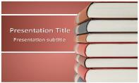 Books Free Ppt Template