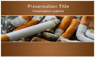 Cigarettes Free Ppt Template