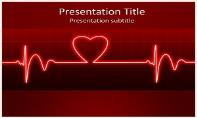 ECG Heart Beat Free Ppt Template