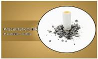 Quit Smoking Free Ppt Template