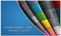 Air Baloon Free Ppt Template