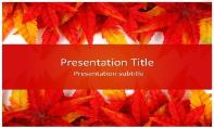 Leaf Abstract Free Ppt Template