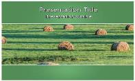 Bales Free Ppt Template