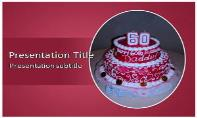 Birthday Cake Free Ppt Template