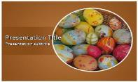 Easter Eggs Free Ppt Template