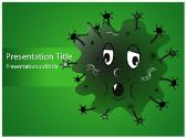 Free Germ PowerPoint Template