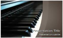 Piano Free Ppt Templates