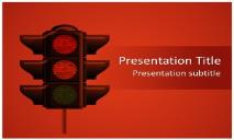 Traffic Lights Free Ppt Templates