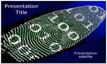 Virtual Identity Free Ppt Templates