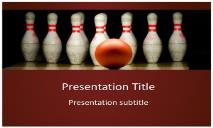 Bowling Free Ppt Templates