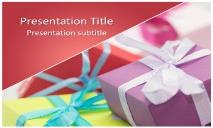 Gifts Free Ppt Templates