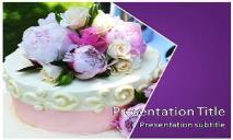 Wedding Cake Free Ppt Templates