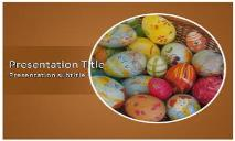 Easter Eggs Free Ppt Templates