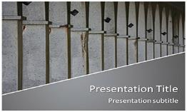 Columns Free Powerpoint Template