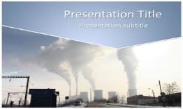 Pollution Free Powerpoint Template