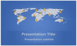Social Media Free Powerpoint Template