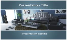 Interior Free Powerpoint Template