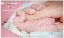 Baby Sleeping Free Powerpoint Template