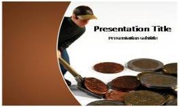 Saving Money Free Powerpoint Template